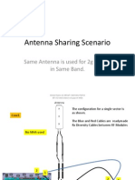 NSN Antenna Sharing With Rx Div