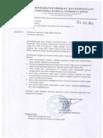 Surat Penawaran Dosen Tetap Non PNS