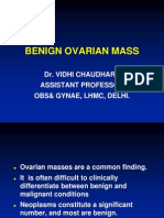 Benign Ovarian Mass