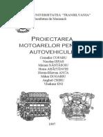 Proiectarea motoarelor