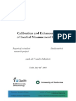 Calibration and Enhancement of Inertial Measurement Units Frank Schubert