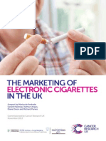 Marketing of electronic cigarettes in the UK
