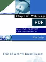 Thiet Ke Web Voi Dreamweaver