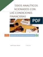 Analisis de Estados Financieros - Metodo Analitico