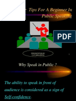 30 Tips for Public Speaking