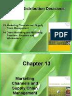 chapter 13 - distribution & logistics