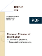 common channel of distribution saurabh