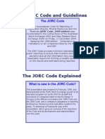 The JORC Code Explained