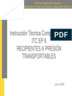 Itc Ep6 Recipientes Presion Transportables