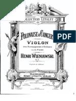 IMSLP34124-PMLP27195-Wieniawski Polonaise de Concert Op4