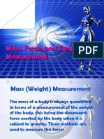 Mass, Force, And Torque Measurement