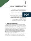 Principles of Calibration