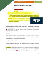 DIREITO ADMINISTRATIVO INTENSIVO LFG 2014 + RESOLUÇÃO DE QUESTÕES
