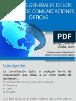 Aspectos Generales de Los Sistemas de Comunicaciones Ópticas