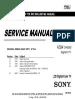 Sony KDL-32EX523 Service Manual