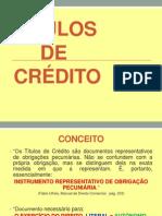 Slides - Titulos de Crédito