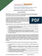 Copia de Simulacro de Examen Para El Concurso de Docentes y Auxiliares 2014 Revisado.