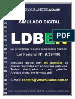 Ldben Vm Simulados E-book-100