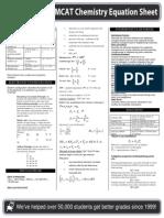 MCAT Chemistry