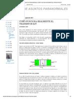 Ministerio de Asuntos Paranormales_ Cómo Funciona Realmente El Transistor Bjt