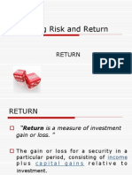 5. Return vs. Risk