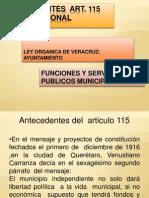 ADMINISTRACION Municipal. Exposición 2