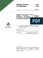 NTC-3493 Aditivos Minerales