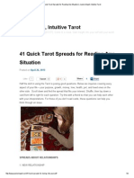 41 Quick Tarot Spreads for Reading Any Situation _ Jeanne Mayell, Intuitive Tarot