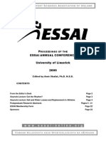 ESSAI Conference Proceedings