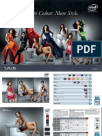 Vaio Catalogue