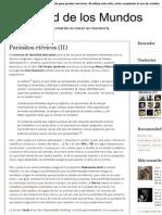 Pluralidad de Los Mundos_ Parásitos Etéricos _(II_)