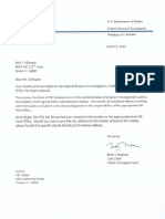 FBI letter Brian J. Nadeau referral Tampa Field Office