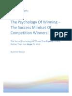Psychology of winning