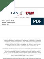 3q13 Latam Airlines Group Results Presentation_v5