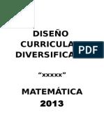 Cartel de Indicadores - Matemática 2013