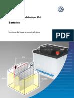 Batteries; Notions de Base Et Manipulation