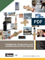 Catálogo de Refrigeración y Aire Acondicionado de PARKER SPORLAN
