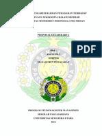 Proposal Geladikarya - Analisis Pengaruh Bauran Pemasaran Terhadap Keputusan Mahasiswa Dalam Memilih Umi Medan