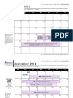 pacing calendar science grade 8 2014-15