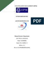 Internship Report1