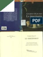 Durand Gilbert, Lo Imaginario