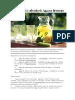 Recetas-Bebidas Sin Alcohol