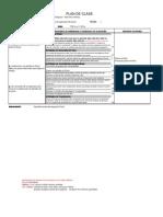 Circulo de Aprendizaje - Excel - Plan de Clase