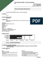 Chemwatch Australian MSDS 6632-96