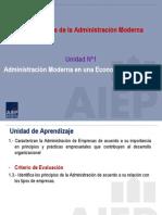 3 Cuarta Clase Fundamentos de La Administración Moderna
