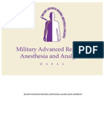 Military Advanced Analgesia and Anesthesia