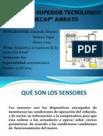 Sensores Del Sistema Diesel