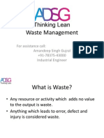 In Process Waste Management