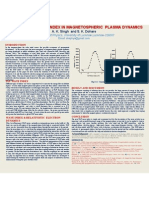 Effect of Ulf Wave Index in Magnetospheric Plasma Dynamics