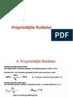 Proprietatiile fluidelor